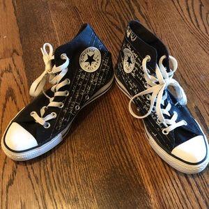 257ce3acdb47 Converse Shoes - Converse limited ed Kurt Cobain lyric high top